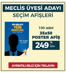 35x50 - POSTER AFİŞ -  ( 100 Adet ) - SEC-26210