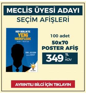 50x70 - POSTER AFİŞ -  ( 100 Adet ) - SEC-26220