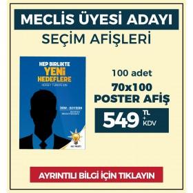 70x100 - POSTER AFİŞ -  ( 100 Adet ) - SEC-26230