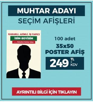 35x50 - POSTER AFİŞ -  ( 100 Adet ) - SEC-27210