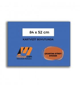STC-12100 - ÇIKARTMA ETİKET / STİCKER - (1.000 adet) - 84x52