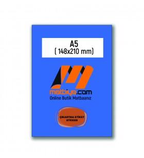STC-13100 - ÇIKARTMA ETİKET / STİCKER - (1.000 adet) - A5