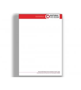 ANE-11011 - A5 - ANTETLİ KAĞIT- 80. Gr. 1. Hamur