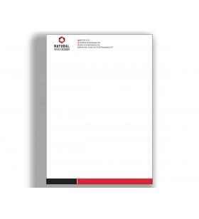 ANE-11012 - A5 - ANTETLİ KAĞIT- 80. Gr. 1. Hamur