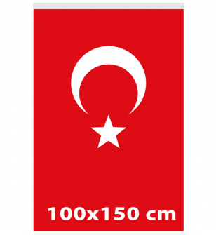 100x150 - TÜRK GÖNDER BAYRAĞI - ( BAY-80002 )