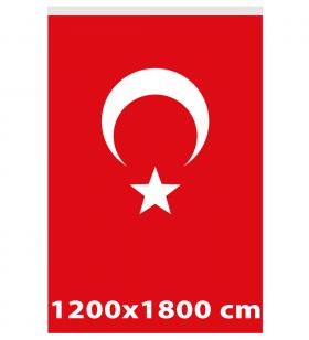 1200x1800 - TÜRK GÖNDER BAYRAĞI - ( BAY-80013 )