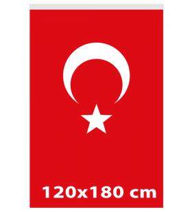 120x180 - TÜRK GÖNDER BAYRAĞI - ( BAY-80003 )