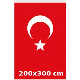 200x300 - TÜRK GÖNDER BAYRAĞI - ( BAY-80005 )