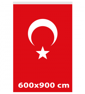 600x900 - TÜRK GÖNDER BAYRAĞI - ( BAY-80009 )
