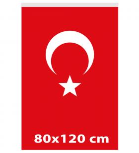 80x120 - TÜRK GÖNDER BAYRAĞI - ( BAY-80001 )