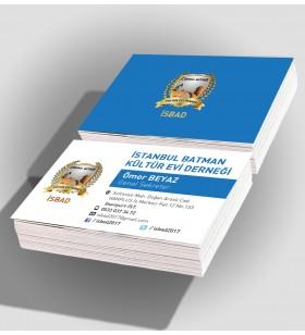KRT-11021 STANDART KARTVİZİT - (1.000 ADET) - 350 Gr. Kuşe