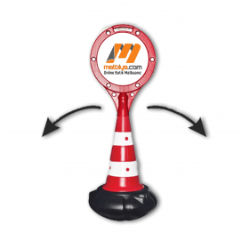Baskılı RAKET HACIYATMAZ DUBA - dub-71801 - ( 1 Adet )