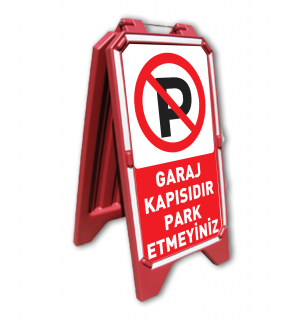 Baskılı AÇ-KAPA TABELA - dub-71101 - ( 1 Adet )